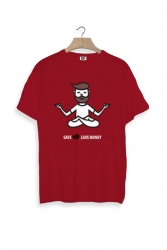 Save Dari Save Money Red unisex t-shirt