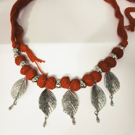 Metal Ethnic Jewellery Necklace Set for women and girls