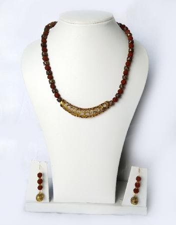 Rudraksho jewellery set