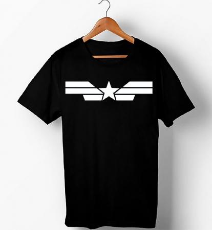 Captain America , Half Sleeve T-Shirt