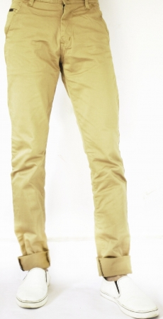 Cream Wrangler Chinos Trousers