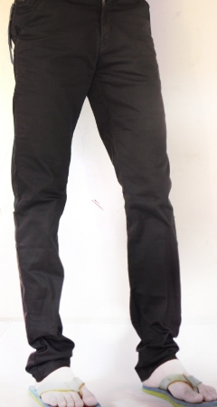 Black Wrangler Chinos Trousers