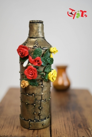 Antique Bottle Art