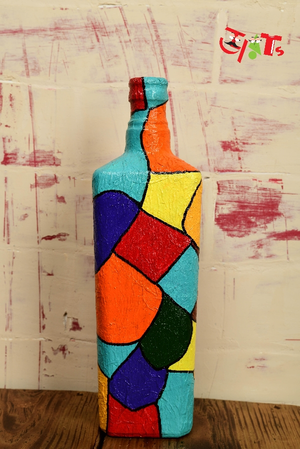 Acrylic Bottle Art