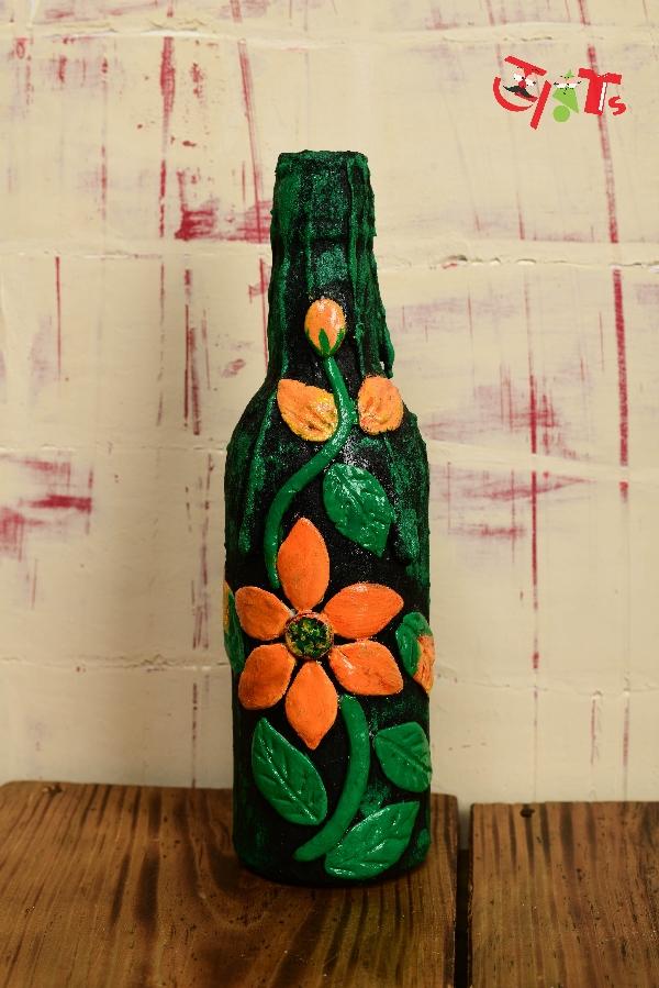 Clay Bottle Art