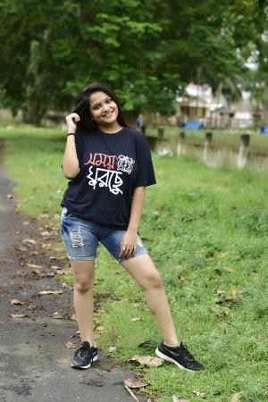 Samay Ghurchhe bengali quoted t-shirt