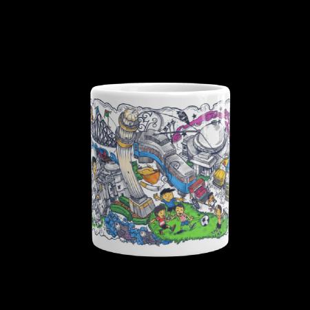 Kolkata Comics Coffee Mug