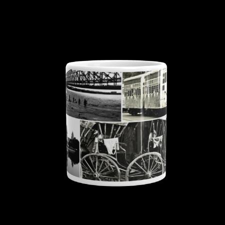 Kolkata Sepia Coffee Mug