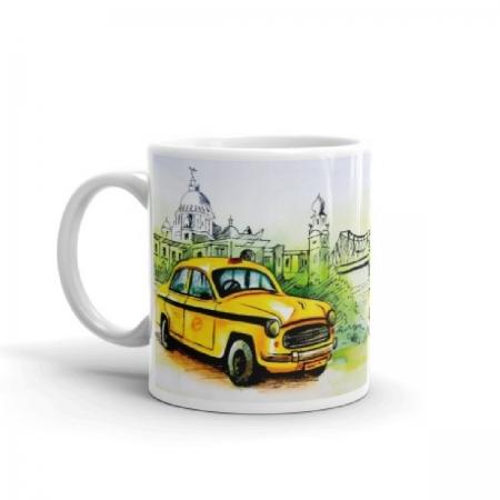 Kolkata Taxi Coffee Mug
