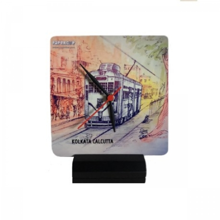 Kolkata Calcutta Tram Clock