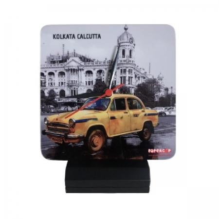 Kolkata Calcutta Taxi Clock