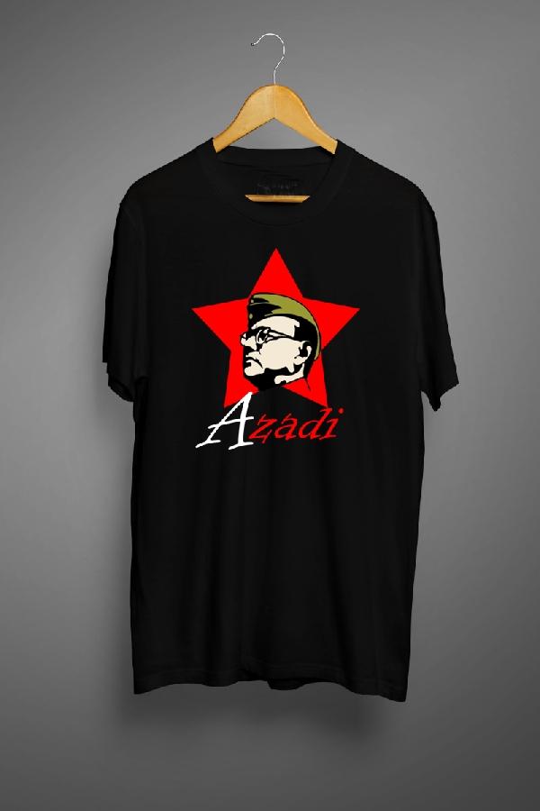 Netaji- Digital Graphic T Shirts