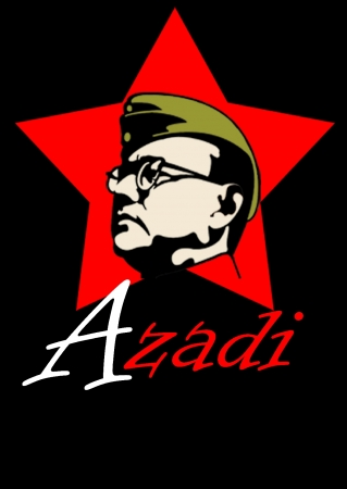 Netaji- Digital Graphic T Shirts